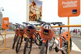 Itau - Bicicletas en Punta del Este - Ciclomag
