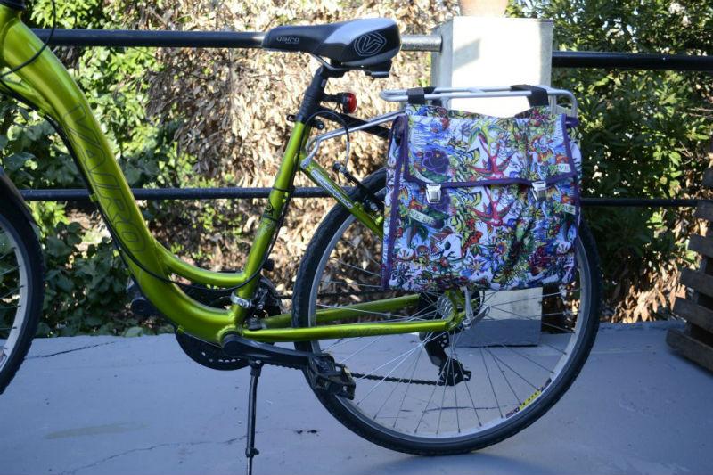 Alforjas para bicicletas en Argentina - Verde y Yo - Accesorios para bicicletas - Bici Verde
