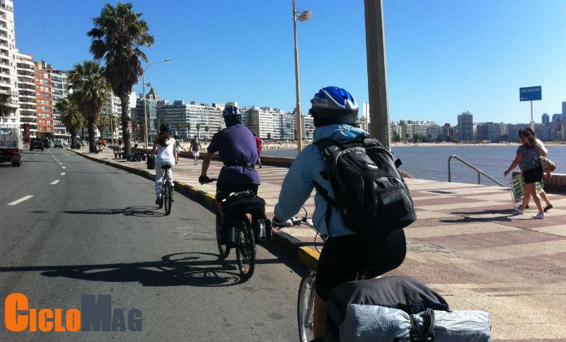 Ciclovías en Montevideo - Promoción de las bicicletas - Cicloturismo