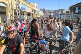 Masa Critica Valparaiso - Revista de Bicicletas - Bicicletas en Chile - Puerto