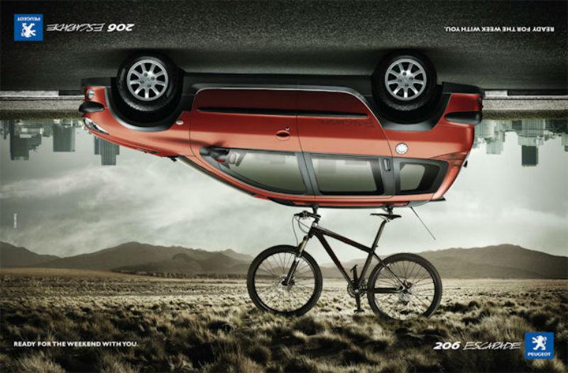 Peugeot fabricará bicicletas en Argentina - CicloMag - Revista de Bicicletas - Auto 206 y Bicicleta MTB