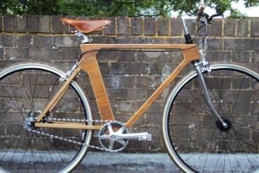Bicicleta con cuadro de madera  - Revista de Bicicleta
