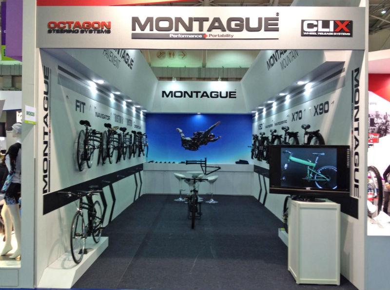 Bicicletas Montague - Bicicletas Plegables - Catalogo 2013 - Stand