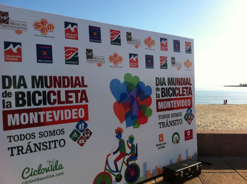 Bicicletas en Uruguay festejaron su día