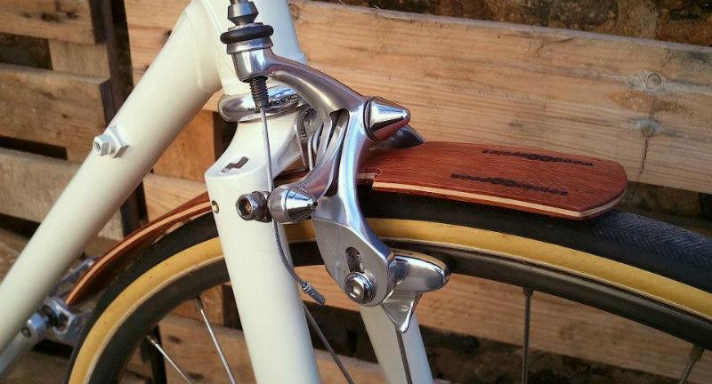 Componentes de bicicletas hechos en madera - Guardabarros - Guardafangos