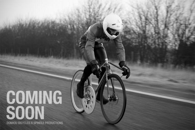 Donhou Bicycles - Bicicleta rápida - Bespoked Bristol 2013 - En accion