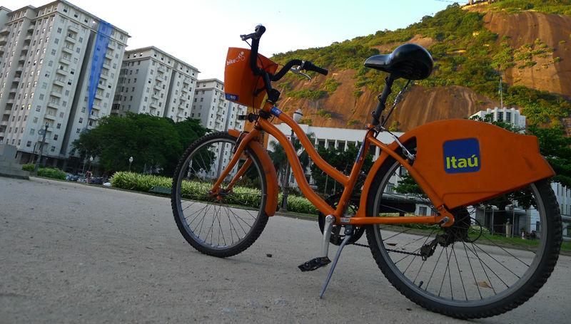 Bicicletas en Brasil - Banco Itaú - Bicis Revista