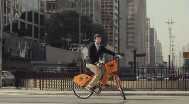 Bicicletas en Brasil - Banco Itaú - Video de bicis