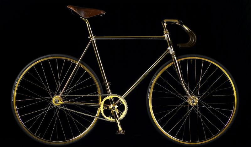 Gold Bike Crystal Edition - Bicicleta más cara del mundo - Lateral