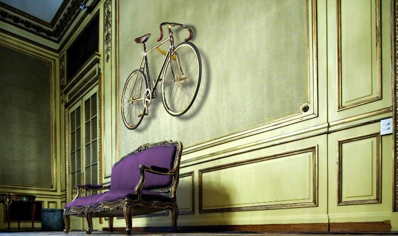Gold Bike Crystal Edition - Bicicleta más cara del mundo - Pared accesorio arte
