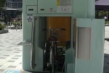 Parkin para bicicletas en Japon - Estacionamiento de bicis - Revista de Bicicletas CicloMag