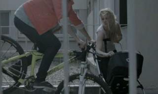 Anne Caroline Chausson - Seguridad en la bicicleta - Ciclistas urbanos - Bebe