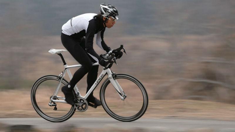 Bicicleta Lexus - Toyota - Revista de bicicletas - Ciclista