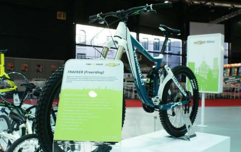 Bicicletas Chevrolet en Argentina - CicloMag Revista - tracker