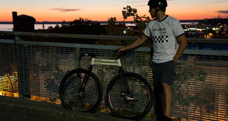 Comprar una bicicleta simple - Bicymple