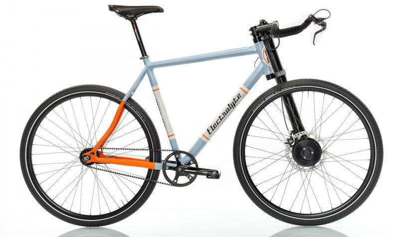 Strassenfeger bicicleta eléctrica sin motor electrolyte