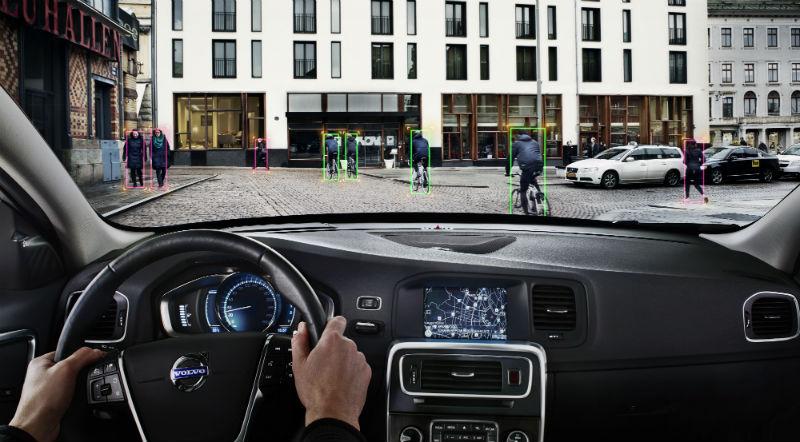 VOLVO brinda seguridad a las bicicletas urbanas y a los peatones