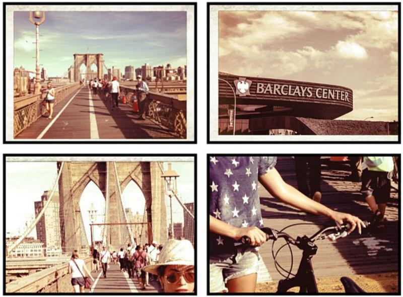 Beyonce utiliza su bicicleta en Nueva York
