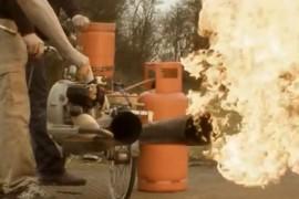 Bicicleta Jet - Colin Furze Invento Bicicleta más peligrosa e insegura del mundo