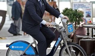 Boris Johnson el defensor de las bicicletas en Londres