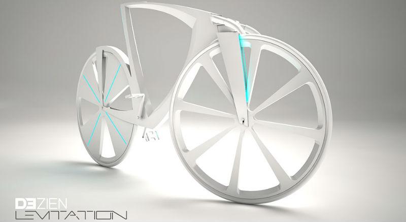 Dezien Levitation es una bicicleta del futuro - Bici completa