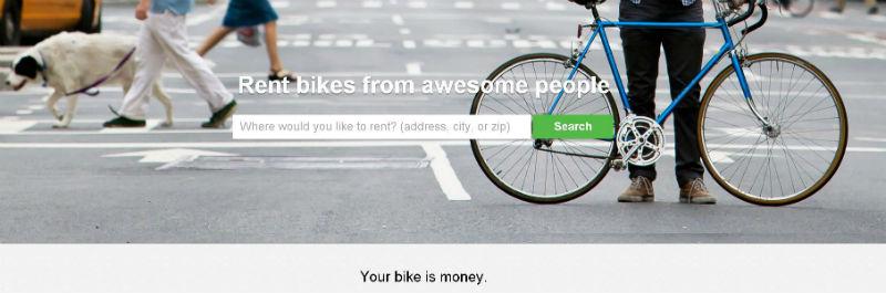 Spinlister facilita el alquiler de bicicletas
