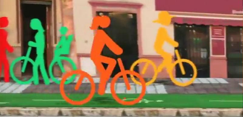 Cumbia de la bicicleta David Aguilar - Videos de bicicletas
