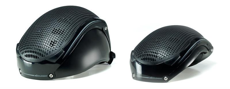 Pango BioLogic - Casco plegable para bicicleta - Accesorio para bicicletas