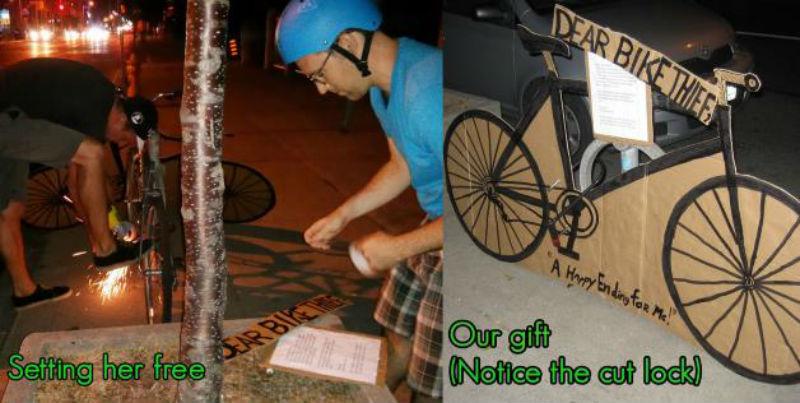 Quentin Mathenson - Creativo frente al robo de bicicletas