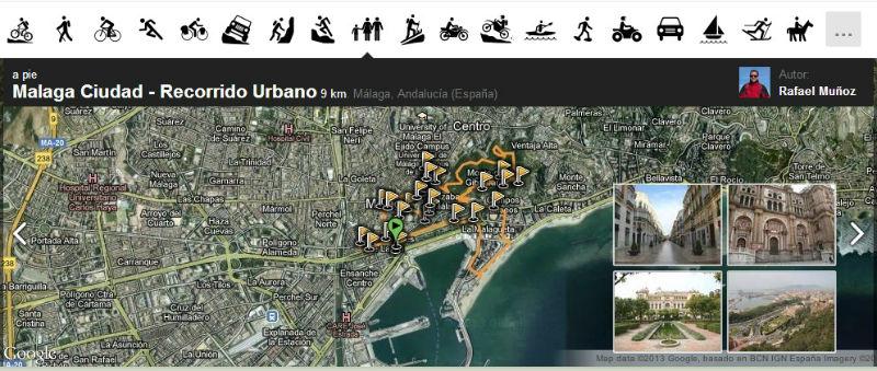 Rutas para cicloturismo MTB ruta paseos urbanos y más
