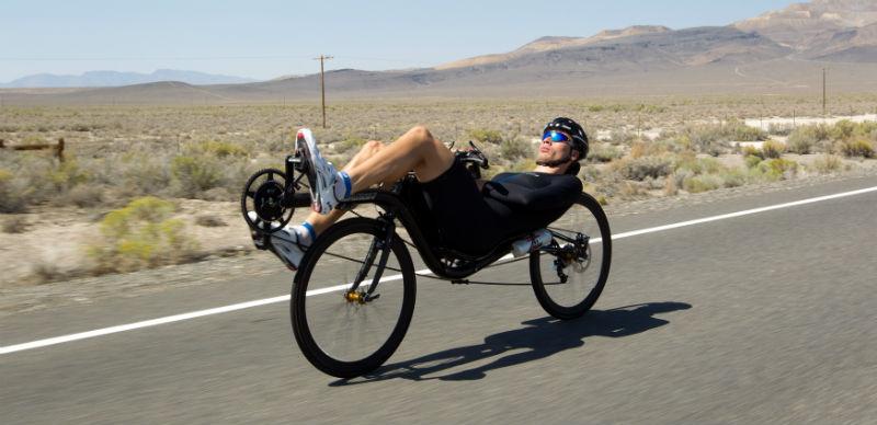 Sebastiaan Bowier - Human Power Team Delft Amsterdam - VeloX3 Bicicleta más rápida del mundo