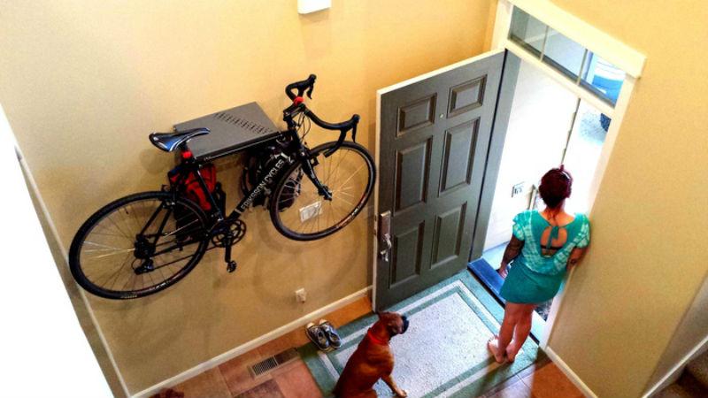 Un soporte para bicicletas con gran dise o for Disenos para bicicletas