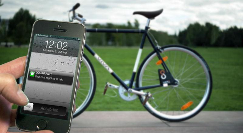 Candado para bicicletas evitar robos de bicicletas