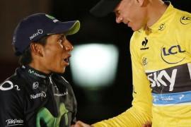 Mejor ciclista del año 2013 - Mejor ciclista del mundo Nairo Quintana Chris Froome