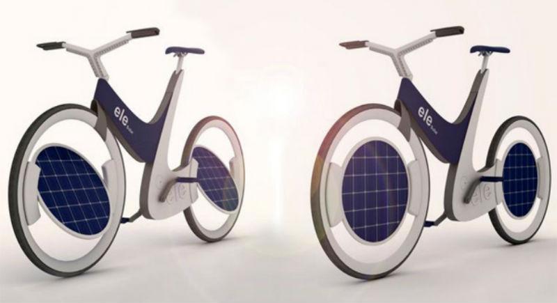 Bicicleta Solar Ele - Bicicleta eléctrica