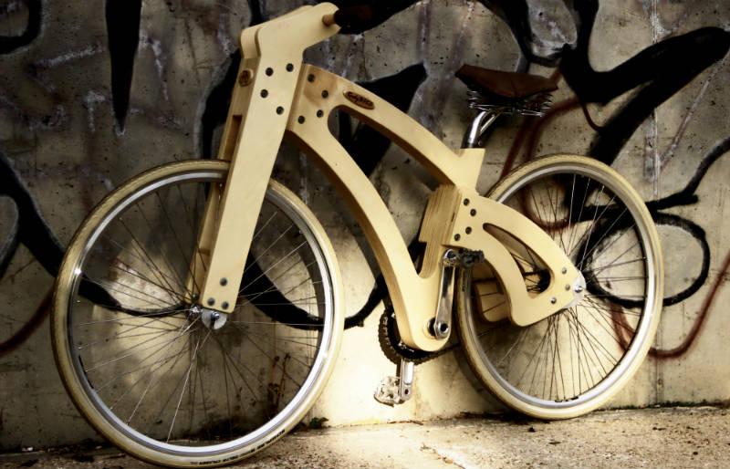 Bicicletas de Madera en España - RudyBIKE Classic