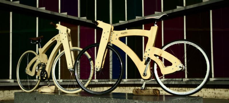 Bicicletas de madera en España - Rudybike