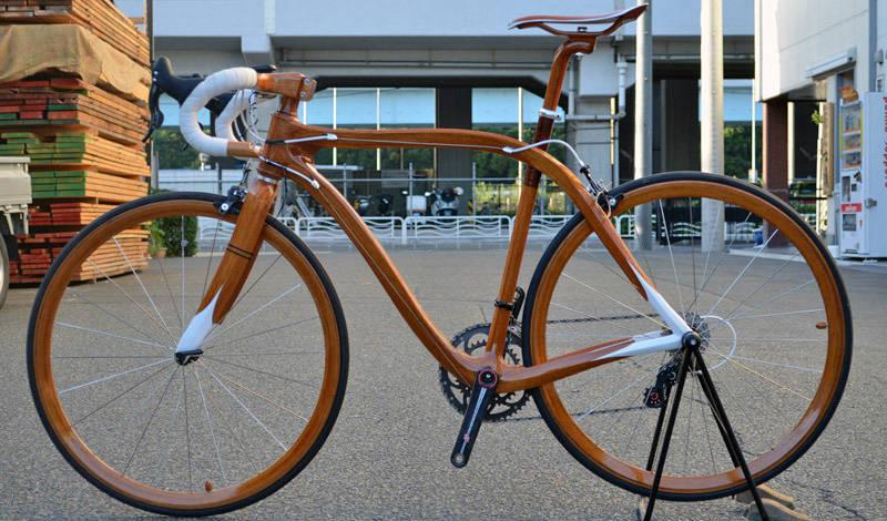 Sanomagic - Bicicletas de madera exclusivas - Revista de bicicletas