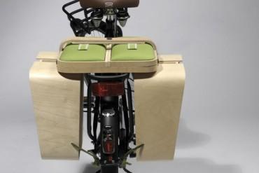 Springtime - alforja para bicicletas se hace mesa - revista de bicicletas