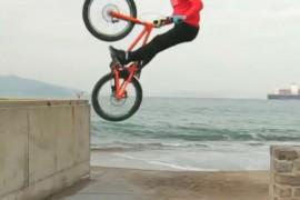 Video de Danny MacAskill con su bicicleta en San Francisco