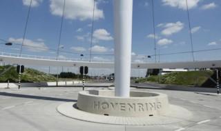 Hovenring - Movilidad urbana en bicicletas en Holanda