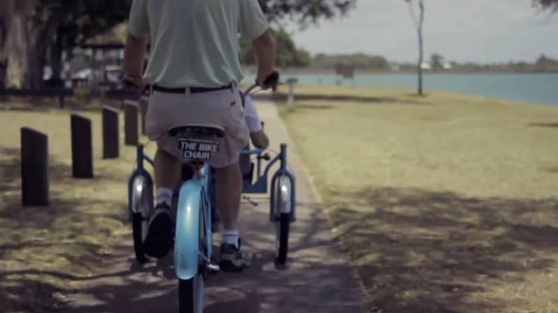 Las bicicletas protagonizan una historia de amor - bike chair