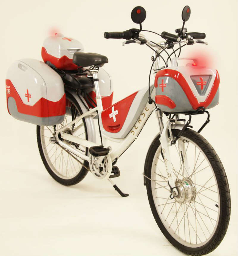 Salve Bike - Bicicleta Ambulancia - Revista de bicicletas CicloMag