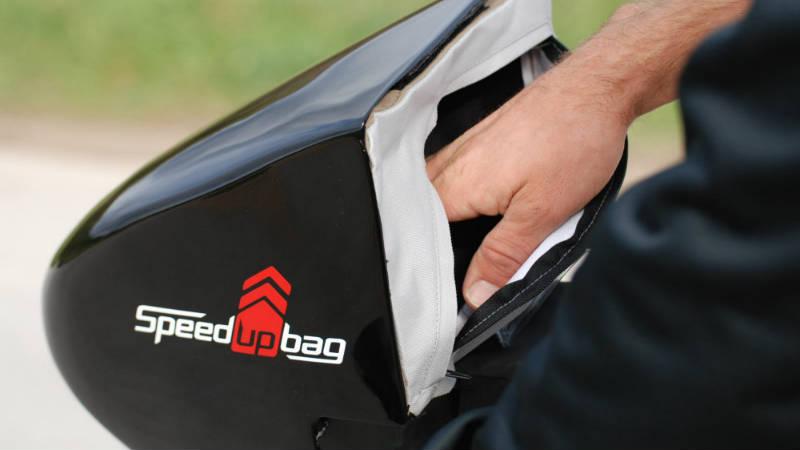 Speed Up Bag Alforja para bicicletas Accesorio innovador