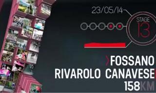 Como es la etapa 13 del Giro de Italia 2014