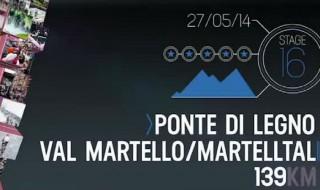 Como es la etapa 16 del Giro de Italia 2014