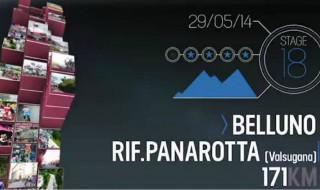 Como es la etapa 18 del Giro de Italia 2014