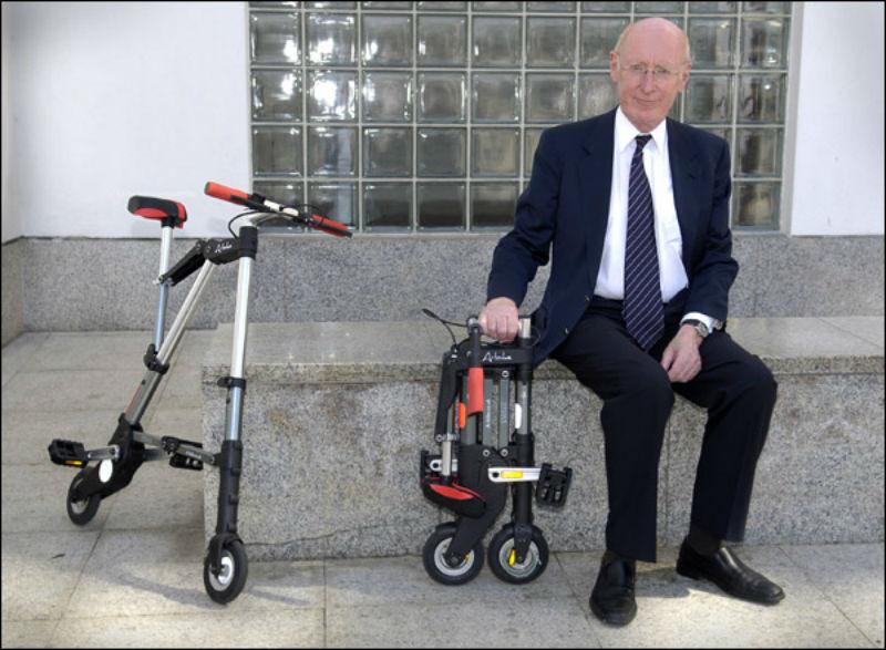 Sir Sinclair - A bike bicicletas plegables de bolsillo
