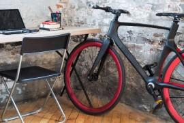 Vanhawks primera bicicleta de carbono inteligente smartbike