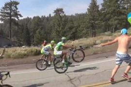 Video de Peter Sagan en el Tour de California
